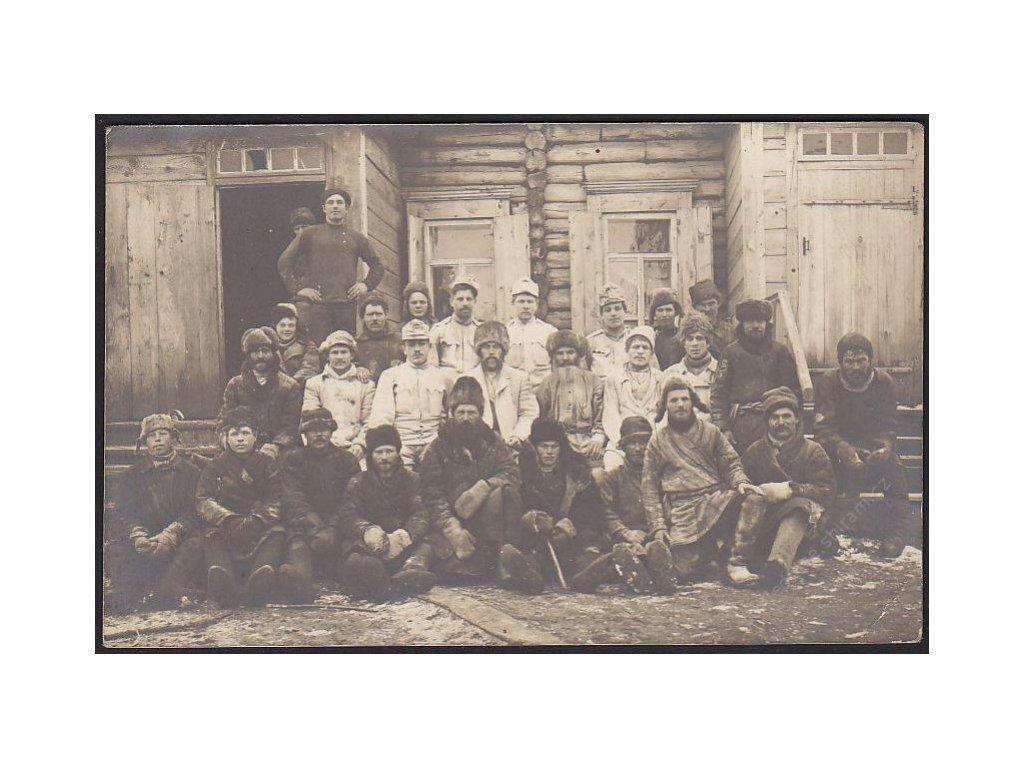 Ruští zajatci, cca 1915