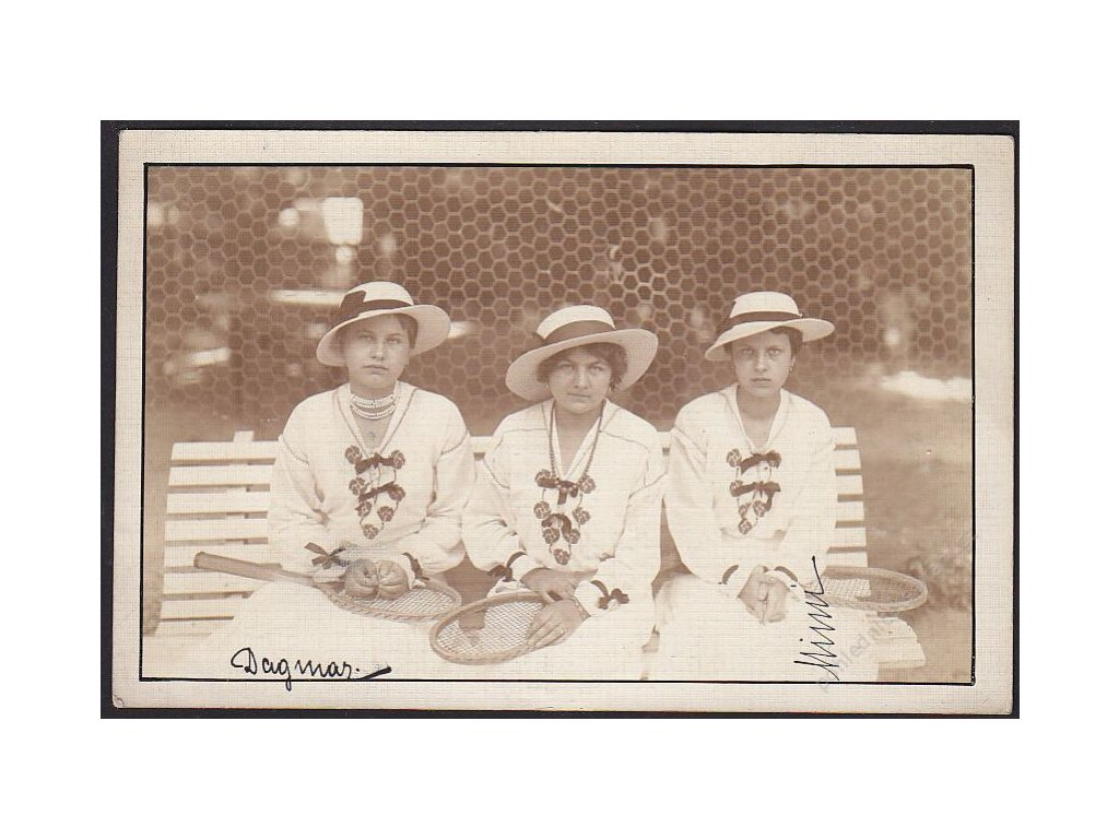 Sport, tenistky, cca 1915