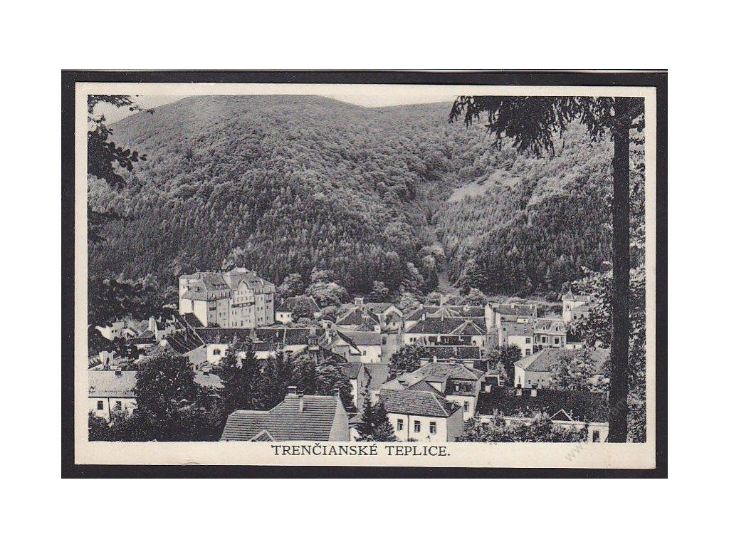 Slovensko, Trenčianské Teplice, cca 1923