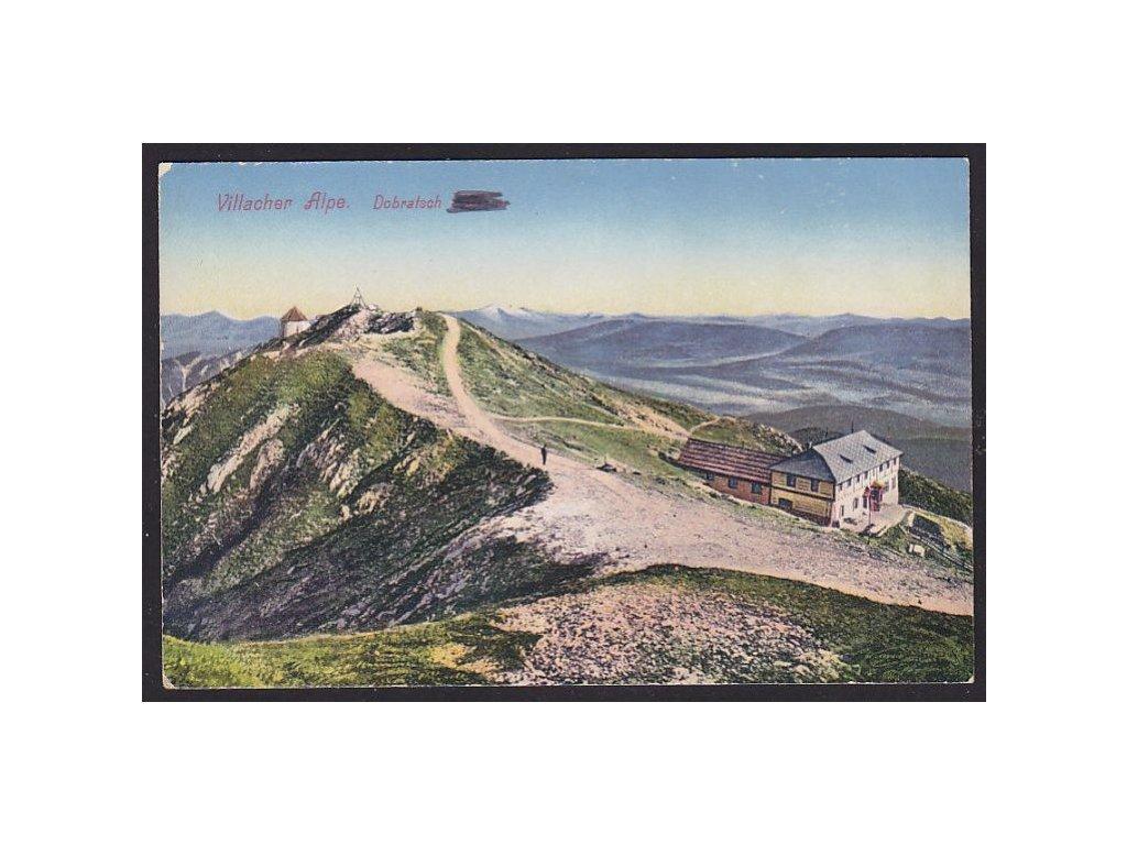 Austria, Carinthia, Villacher Alpe, Dobratsch, cca 1913