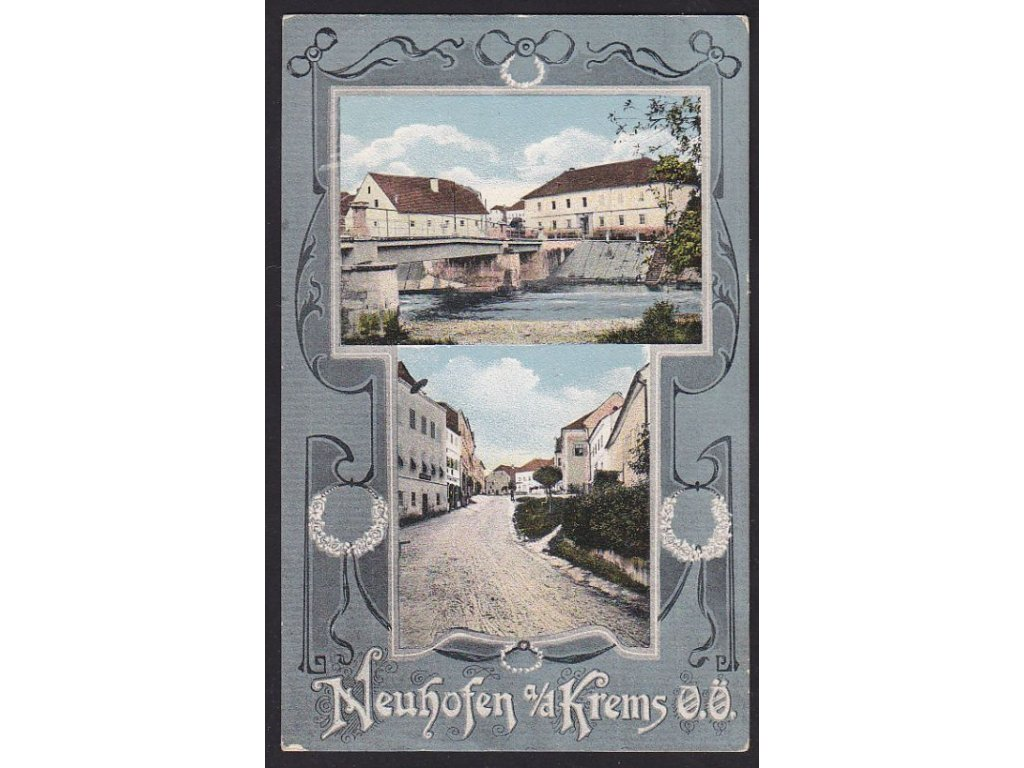 Austria, Upper Austria, Linz-Land, Neuhofen an der Krems, cca 1914
