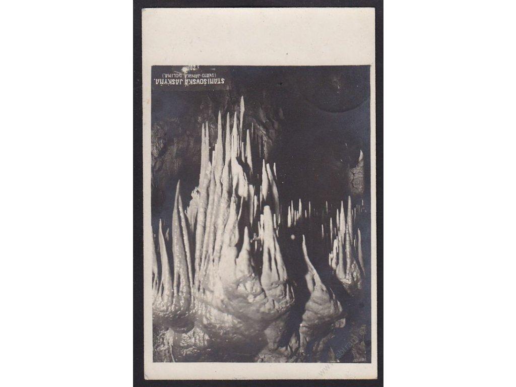 Slovensko, Jánská dolina, Liptovský Ján, Stanišovská jaskyňa, cca 1925