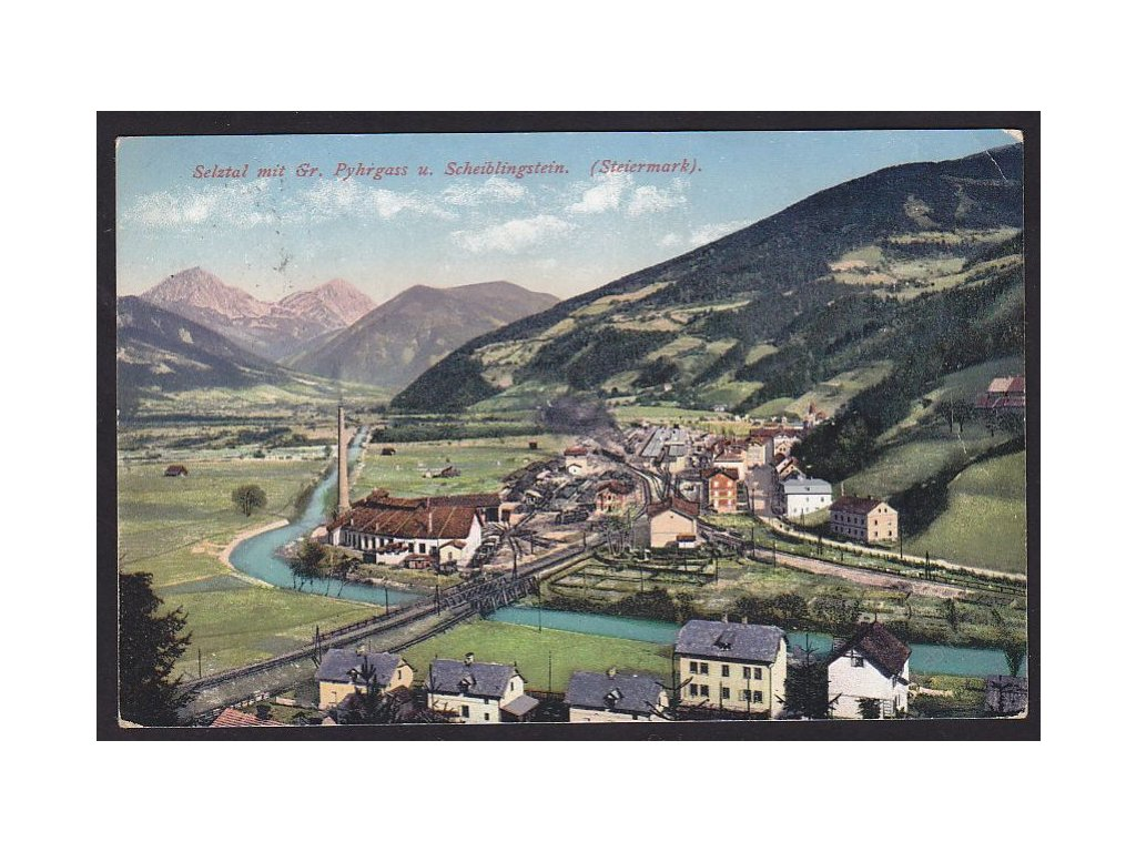 Austria, Styria, Liezen, Seltzhal, cca 1915