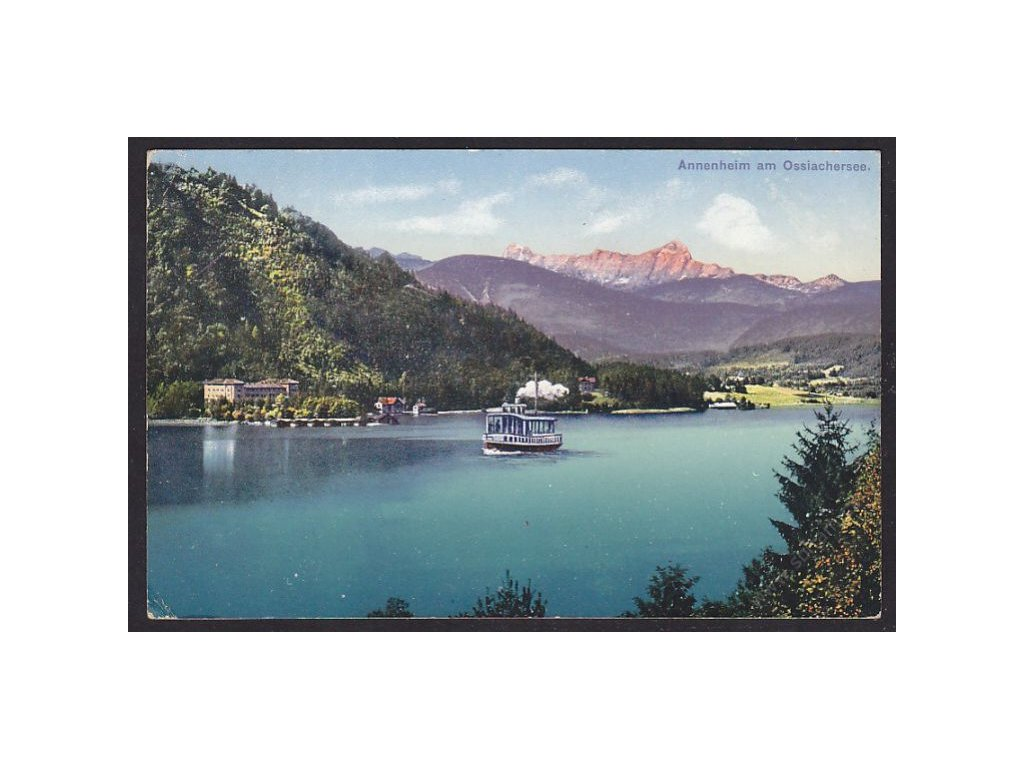 Austria, Carinthia, Annenheim, Lake Ossiach, cca 1915