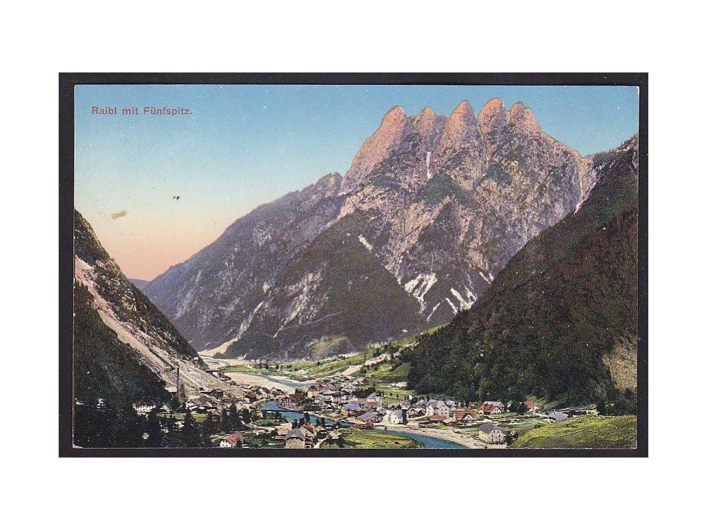 Italy, Friuli-Venezia Giulia, Province of Udine, Tarvisio, Cave del Predil, cca 1916