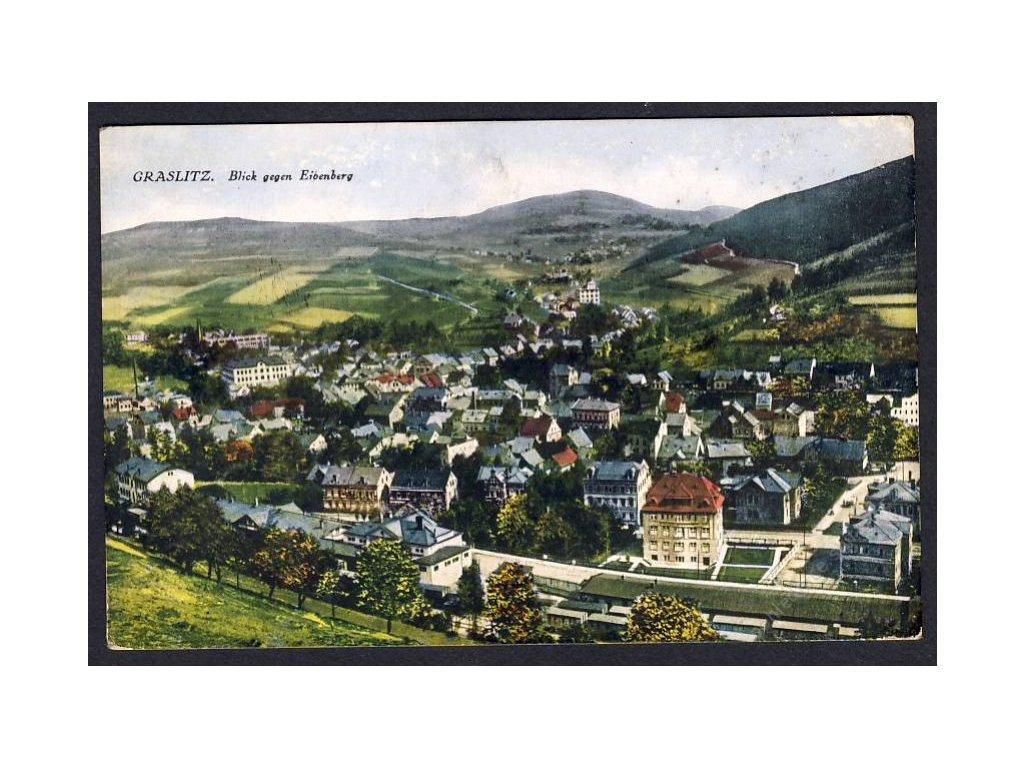59-Sokolovsko, Kraslice, Celkový pohled, cca 1920