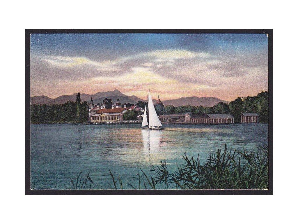 Austria, Carinthia, Velden am Lake Wörthersee, cca 1913