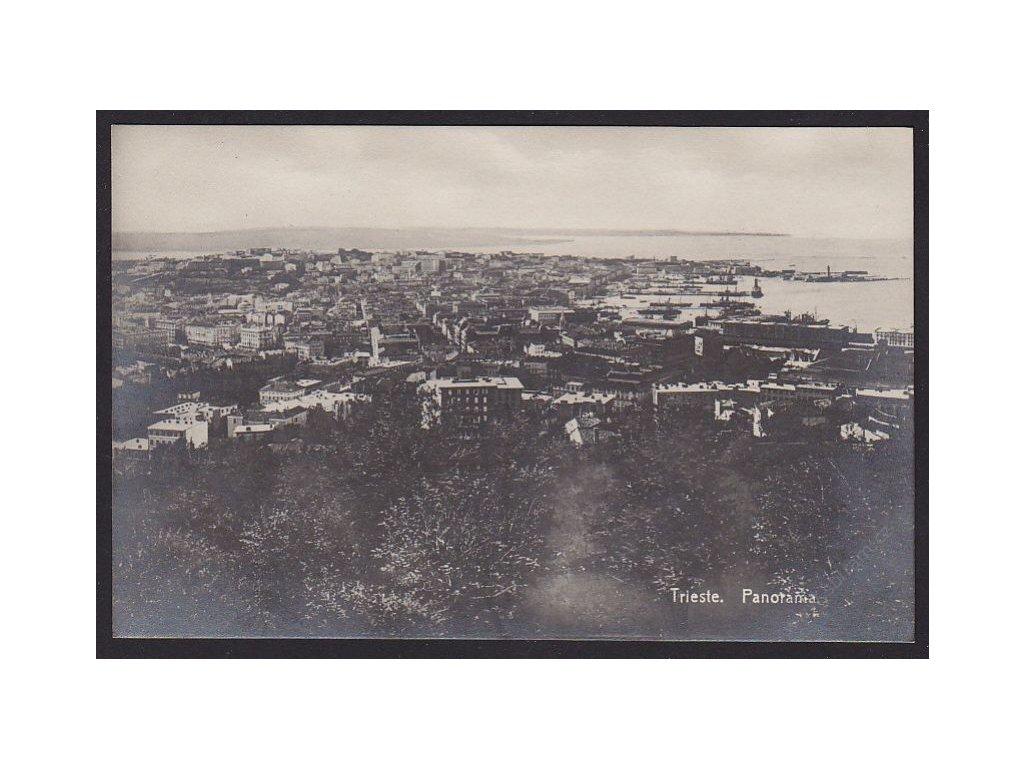 Italy, Trieste, panorama, cca 1910