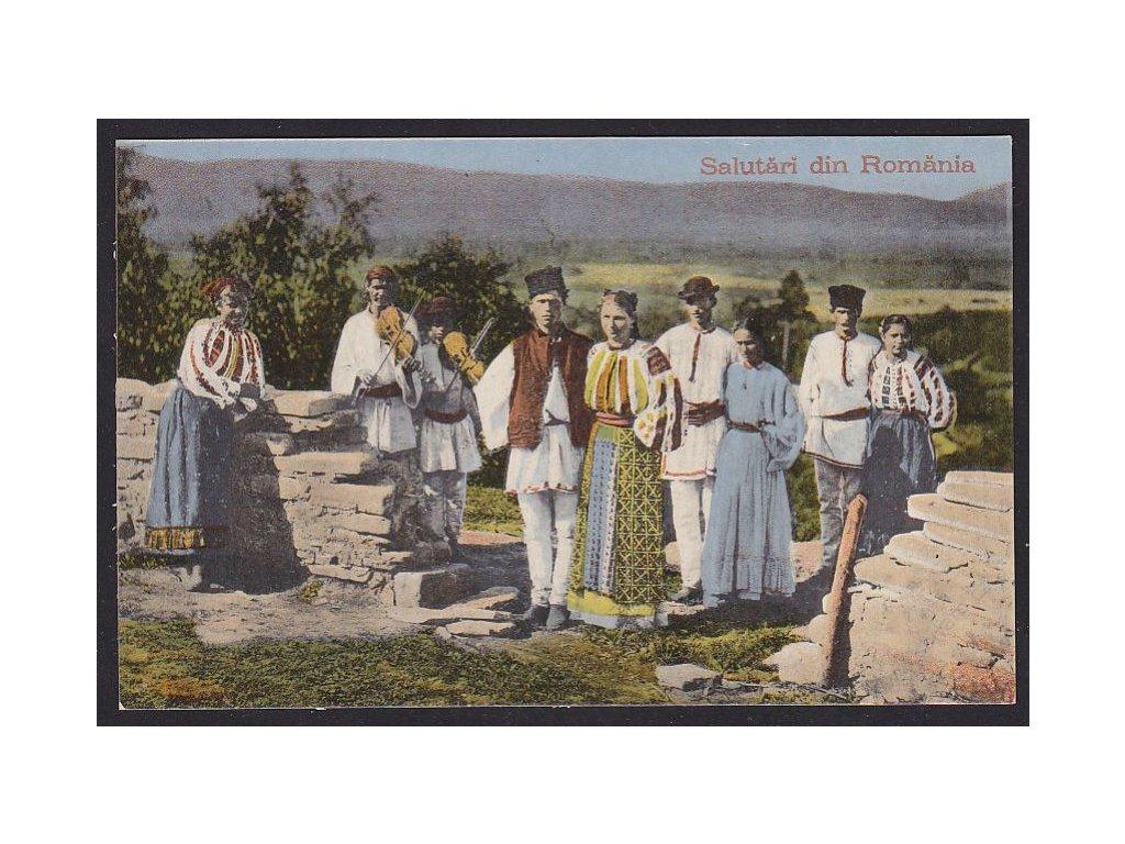Romania, Salutari, cca 1910