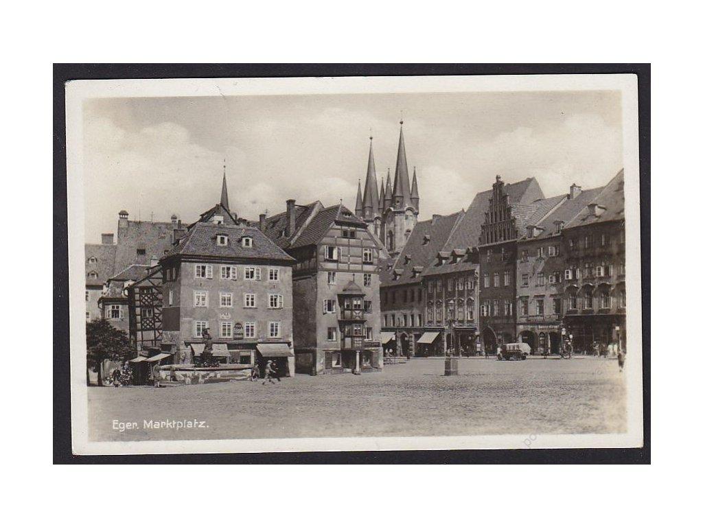 08-Cheb, Náměstí, cca 1934