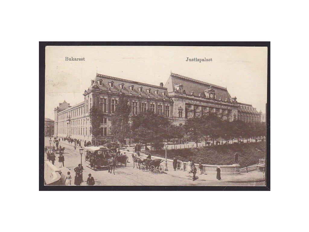 Romania, Bucharest, Palace of Justice, cca 1920