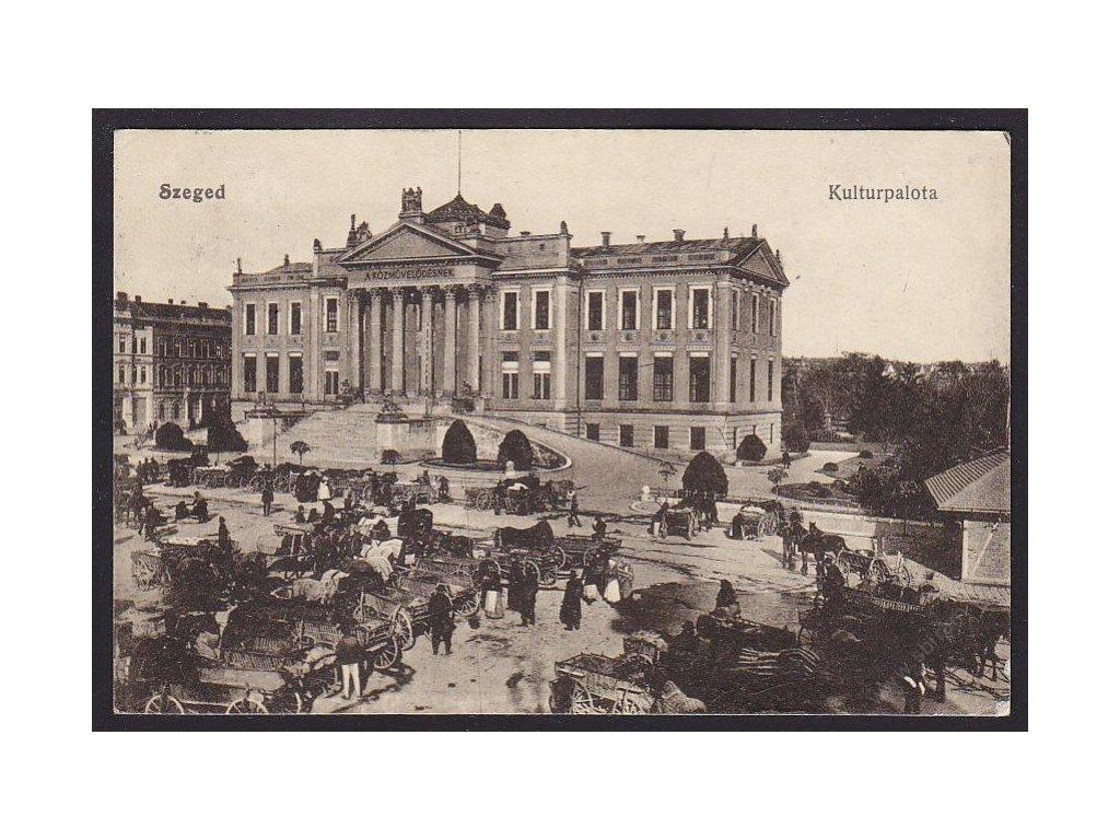 Hungary, Szeged, Palace of Culture, cca 1916