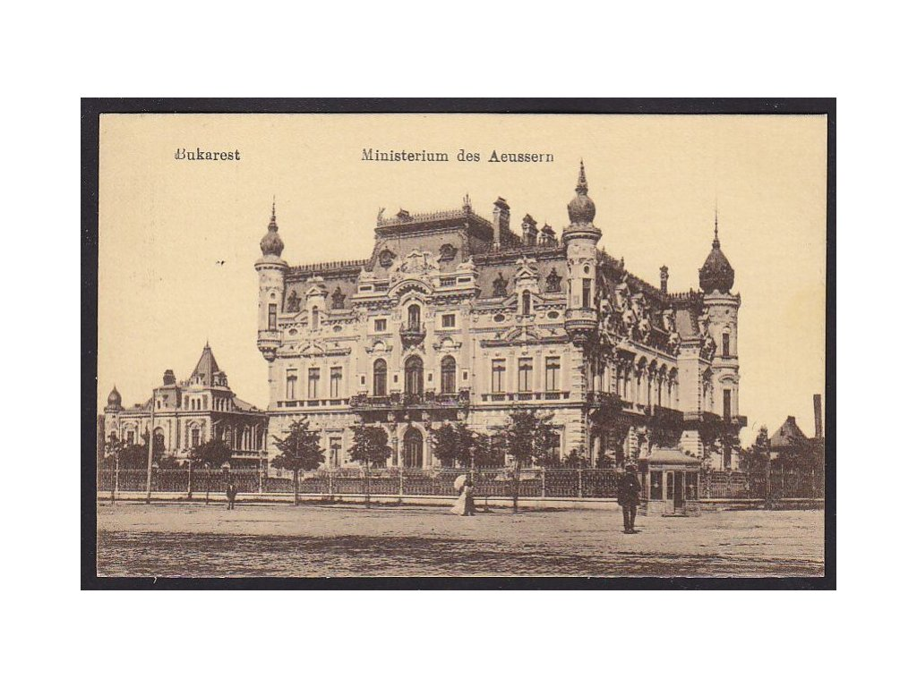 Romania, Bucharest, Ministry of Foreign Affairs, cca 1915