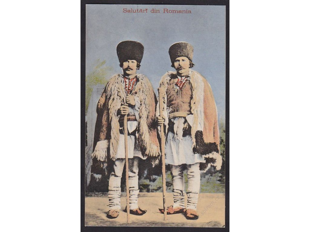Romania, greetings from Romania, cca 1908