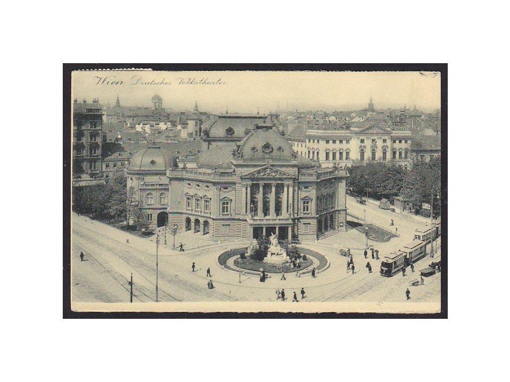 Austria, Vienna, German National Theatre, cca 1913