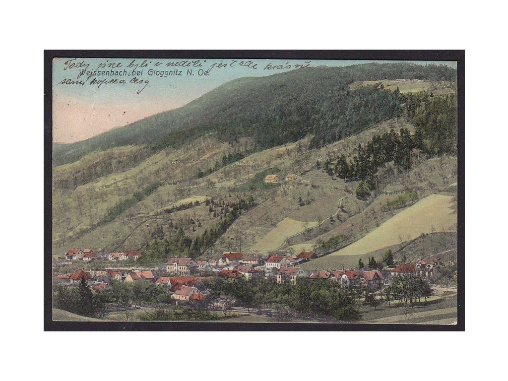Austria, Lower Austria, Neunkirchen, Weissenbach by Gloggnitz, cca 1912