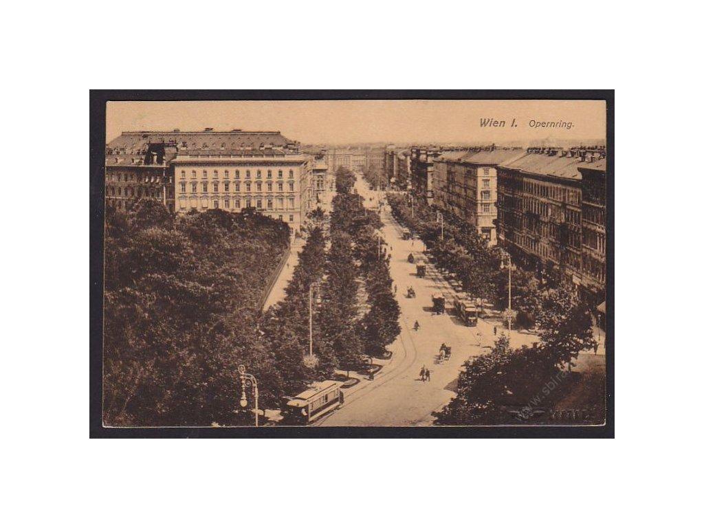 Austria, Vienna, Vienna State Opera, cca 1916
