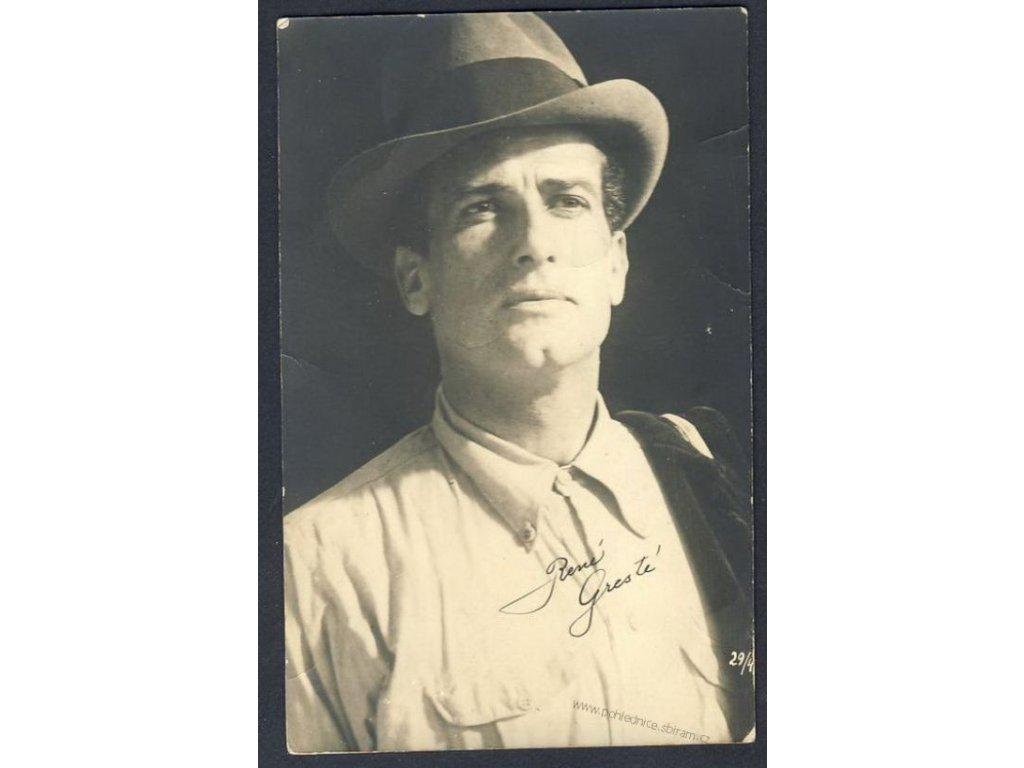 René Gresté z filmu Judex, ca1930