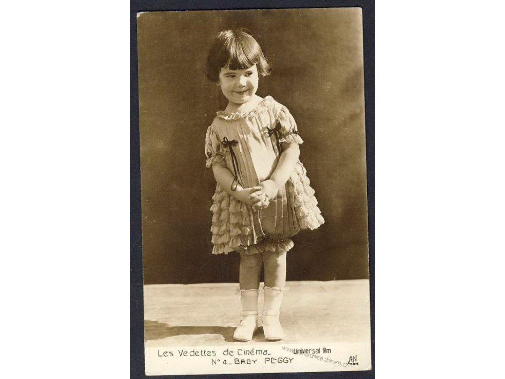 Diana Serra Cary, dětská hvězda Peggy, ca 1930