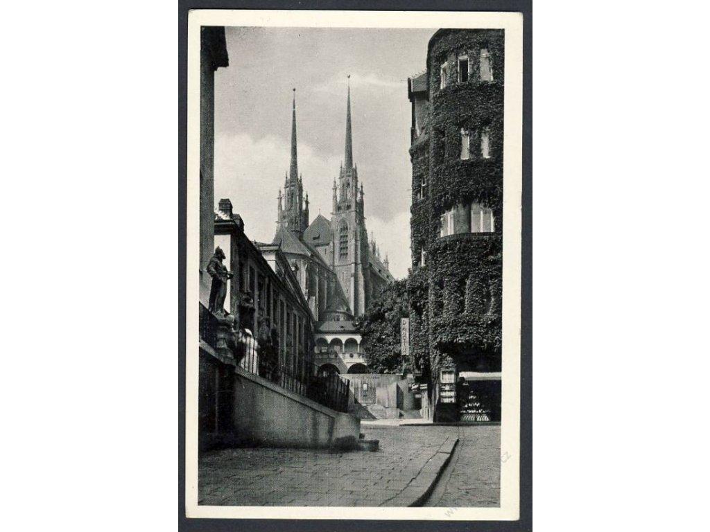 04 - Brno-město, Chrám sv. Petra, cca 1941