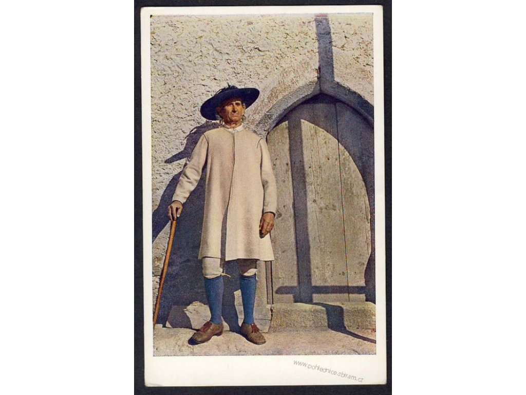 Muž z Chodska, ca 1930