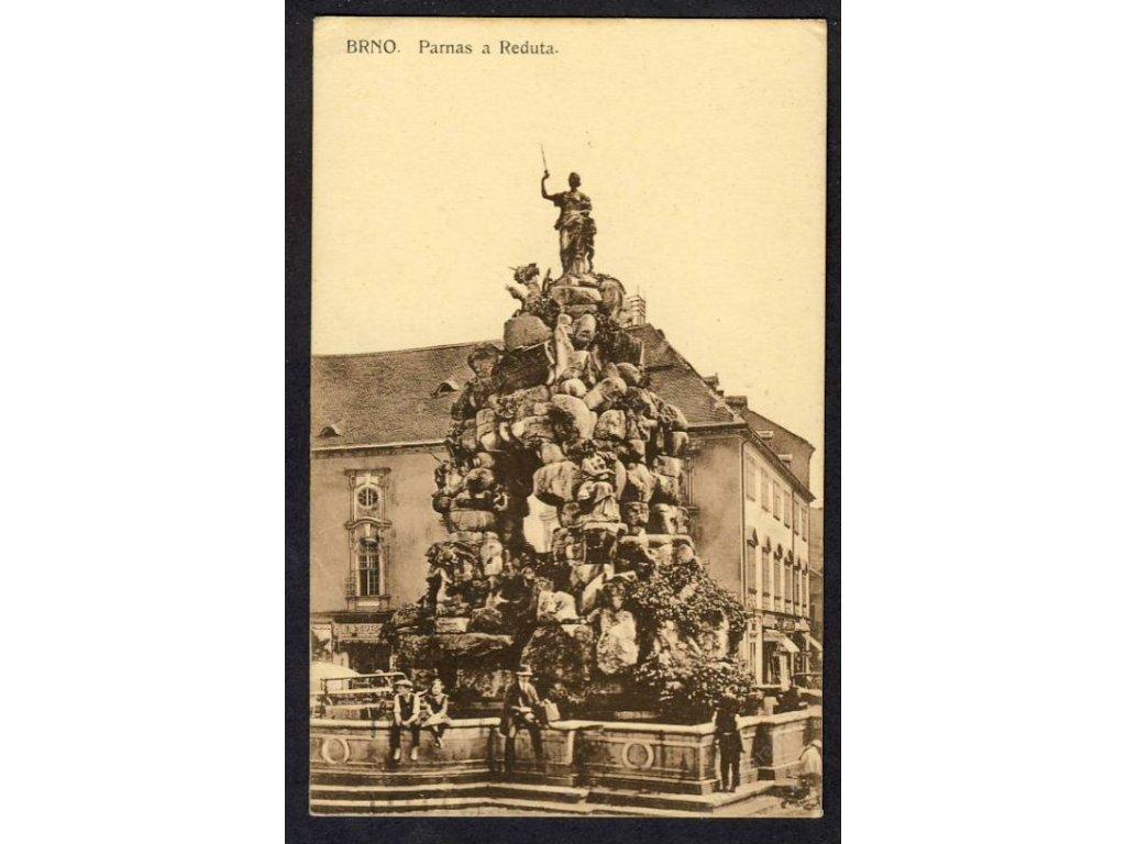 04 - Brno-město, Parnas a Reduta, nakl. Barvič & Novotný, cca 1920