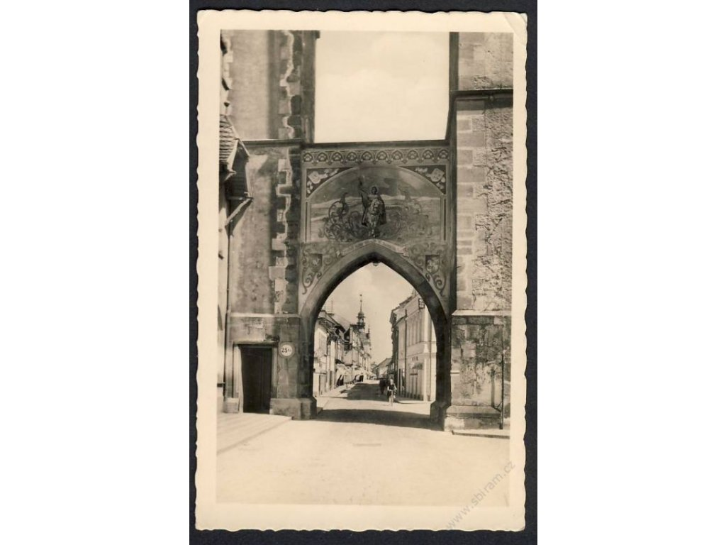 70 - Ústeckoorlicko, Vysoké Mýto (Hohenmauth), fototypia, cca 1940