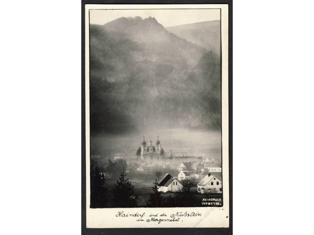 66 - Trutnovsko, Hajnice (Haindorg), foto. Hagenauer, cca 1934