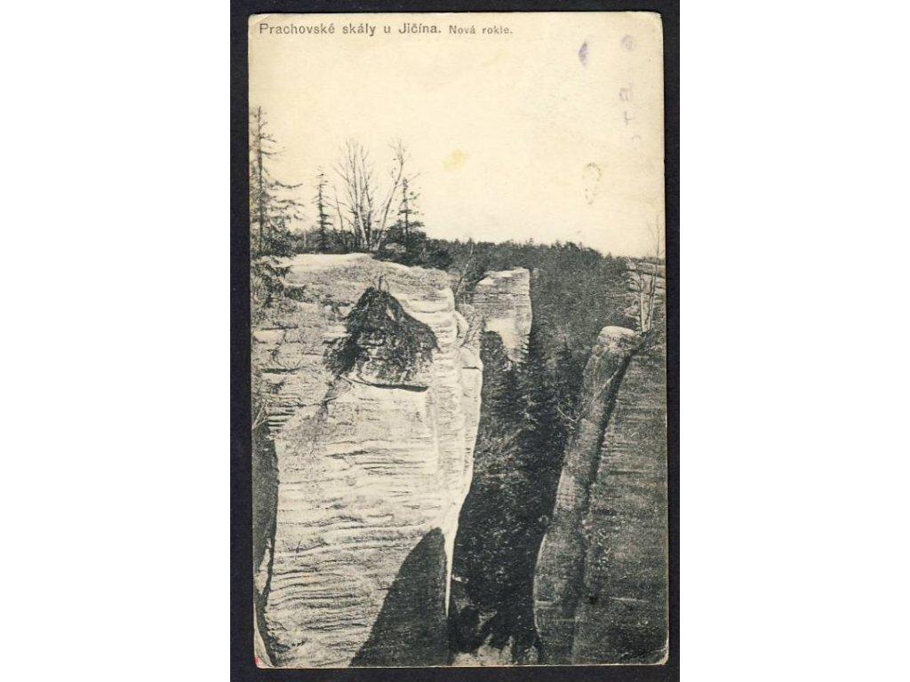 22 - Jičínsko, Prachovské skály, Nová rokle, cca 1908