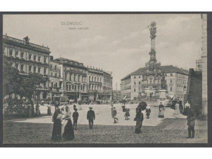 41-Olomouc, Horní náměstí, cca 1915