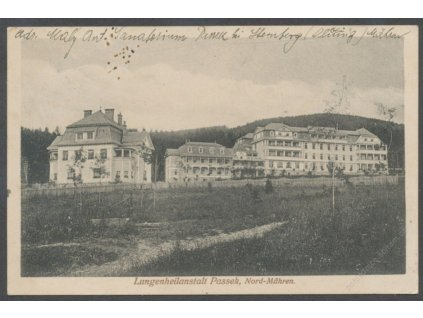 41-Olomoucko, Plicní sanatorium Passek, cca 1915