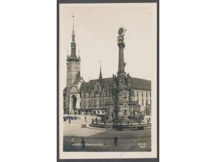 41-Olomouc, Masarykovo náměstí, Foto Fon, cca 1930
