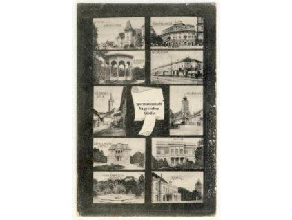 Rumunsko, Sibiň (Hermannstadt), ca 1906