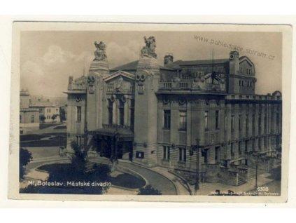 36- Mladá Boleslav, Městské divadlo, Foto Fon, ca 1928