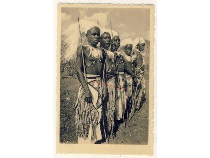 Bel. Kongo, domorodci, cca 1935