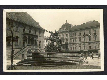 41 - Olomouc, (Olmütz), Caesarova kašna, foto Fon