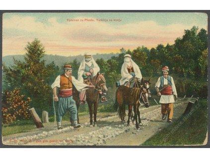 Turecko, zu Pferde, Turci na koních, ca 1910