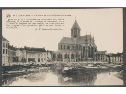 Belgium, Oudenaarde, Church of our Lady of Pamele