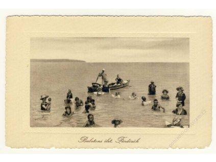 Hungary, Transdanubian, Lake Balaton, ca 1925