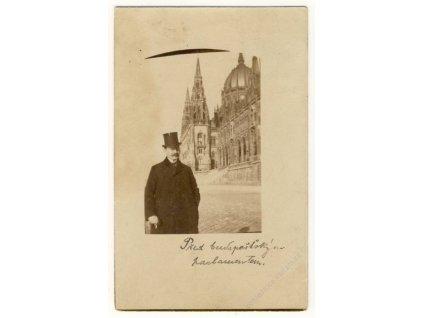 Hungary, Budapest, Parliament building, ca 1906