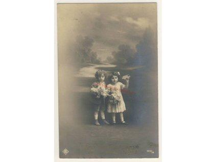 K jmeninám, cca 1910