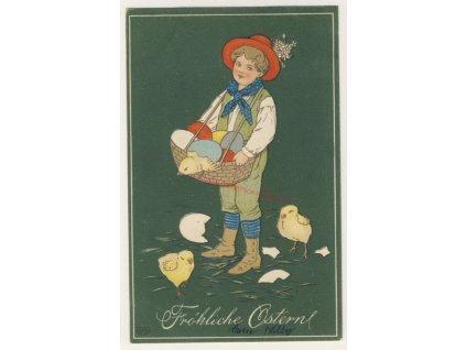Veselé Velikonoce, cca 1910