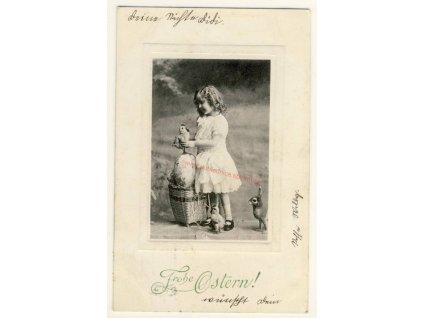 Velikonoční pohlednice, cca 1915