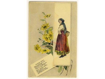 Blahopřejná, cca 1906