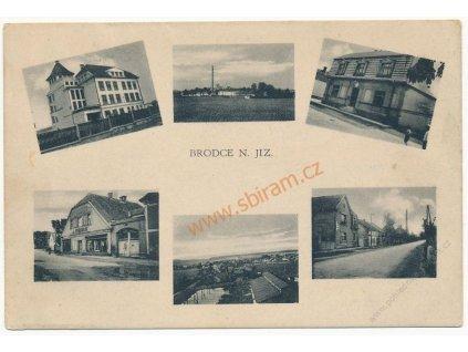 36 - Mladoboleslavsko, Brodce n. Jiz., 6 - ti záběr dominant, cca 1925