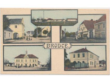 36 - Mladoboleslavsko, Brodce, 5 - ti záběr, Nakl. J. Polák, cca 1920