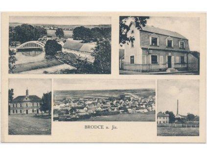 36 - Mladoboleslavsko, Brodce nad J., 5 - ti záběr dominant, cca 1910