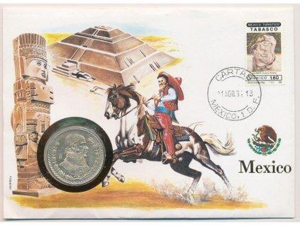 Mexiko, mincovní obálka, , 1982, sběratelská jakost, hledané