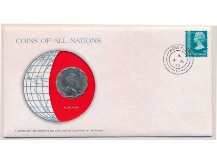 Hongkong, mincovní obálka, , 1979, sběratelská jakost, hledané