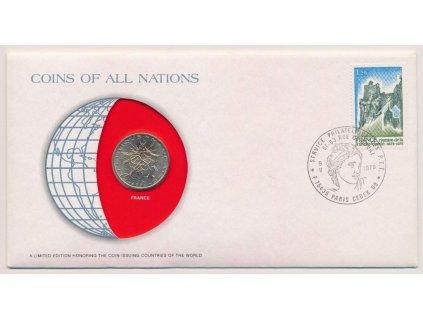 Francie, mincovní obálka, 1979, sběratelská jakost, hledané